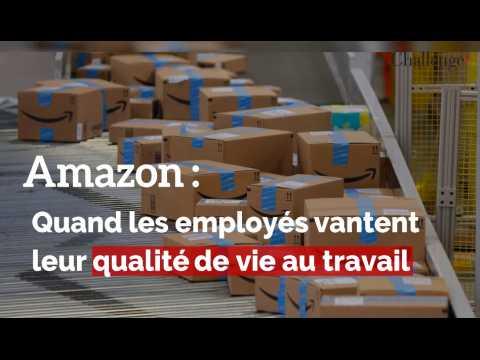 Amazon : Quand les employés vantent leur qualité de vie au travail