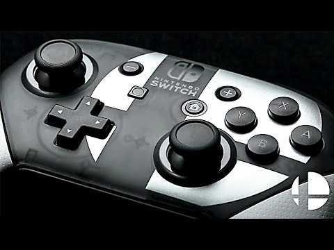 Nintendo Switch Pro: Controller Super Smash Bros Ultimate Edition Trailer (2018)