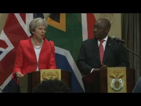 May vows post-Brexit UK will be leading investor in Africa