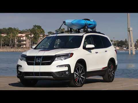 2019 Honda Pilot Elite AWD Preview