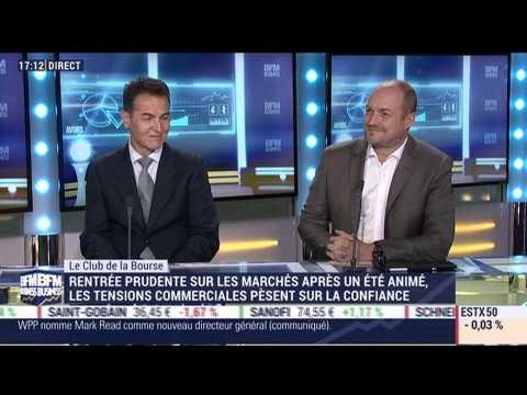 Le Club de la Bourse: Eric Franceschini, François Chaulet et Carmine de Franco - 03/09