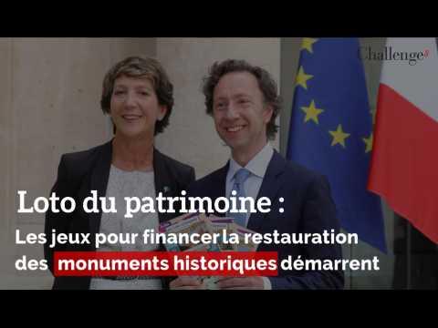 Loto du patrimoine : Les jeux pour financer la restauration de monuments historiques démarrent