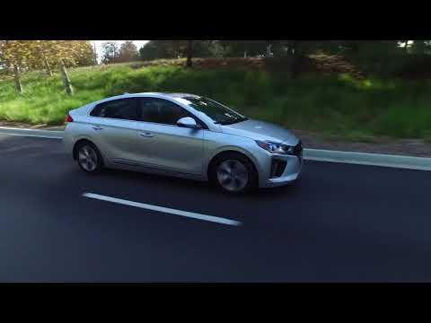 2019 Hyundai Ioniq Electric Driving Video