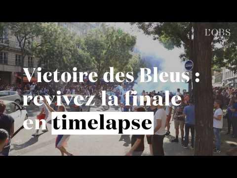 Victoire des Bleus : revivez la finale en timelapse