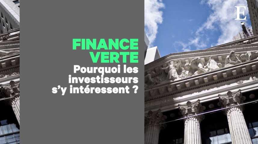 Illustration pour la vidéo La finance au service de l'écologie ? Ce qui existe (Et ce qu'il reste à faire)