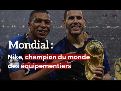 Nike, champion du monde des équipementiers