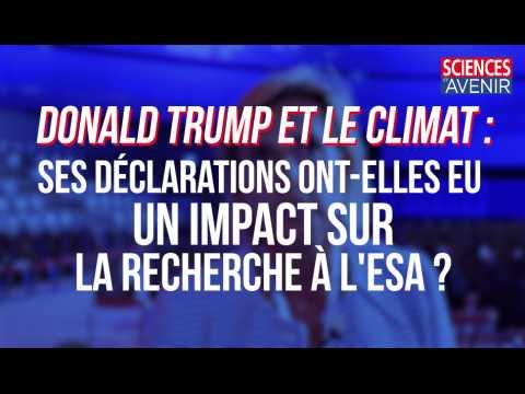 Trump et le climat : quel impact sur la recherche scientifique en Europe ?
