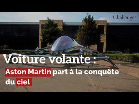 Voiture volante : Aston Martin part à la conquête du ciel