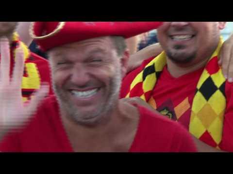 World Cup: Belgium fans 'proud,' England fans 'optimistic'