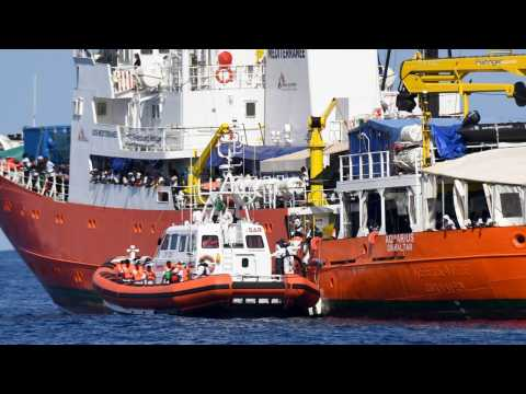 Migrant Rescue Ship Arrives In Malta, Ending Standoff
