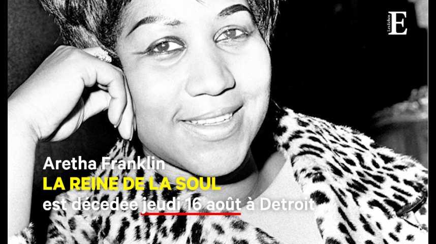 """Illustration pour la vidéo Aretha Franklin : la musique soul perd sa """"reine"""""""