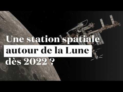 Une station spatiale autour de la Lune dès 2022 ?