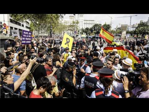 Separatist Bid Looms Over Barcelona Attack Commemoration