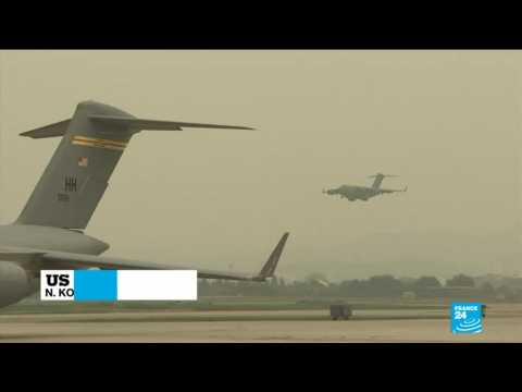 North Korea returns the remains of US servicemen