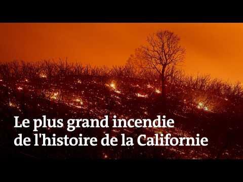 Le plus grand incendie de l'histoire de la Californie