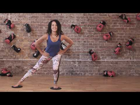 Move Your Frame: Simple Home Workout with Gliders