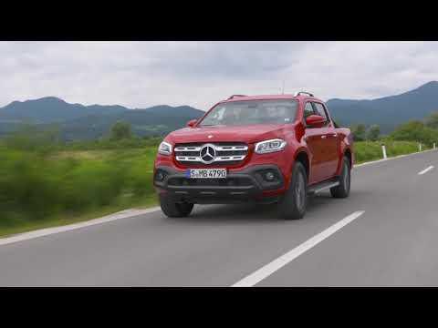 Mercedes-Benz X 350 d 4MATIC Danakil Red Driving Video