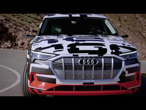 Going downhill – the Audi e-tron prototype braking test at Pikes Peak