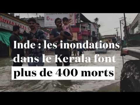 Inde : les inondations dans le Kerala font plus de 400 morts