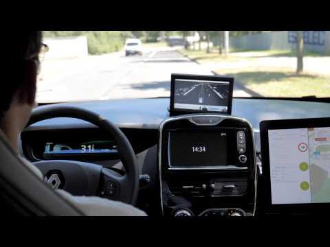 On a testé les ZOE autonomes que Renault va mettre en service dès la rentrée