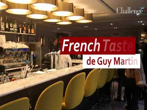 French Taste de Guy Martin, le restaurant installé au sein de l'aéroport de Paris du chef étoilé
