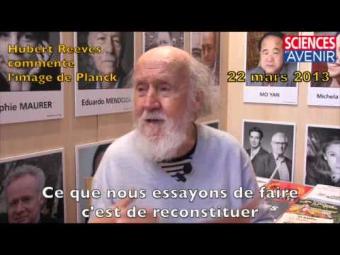 Hubert Reeves commente l'image de Planck