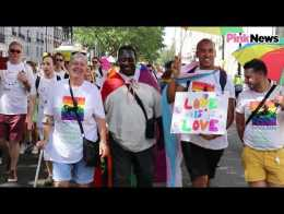 Gay son takes parents to Pride for first time