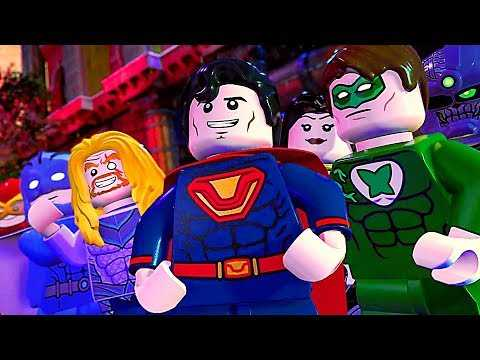 LEGO DC Super Villains: San Diego Comic Con Trailer (2018) PS4 / Xbox One / Switch / PC