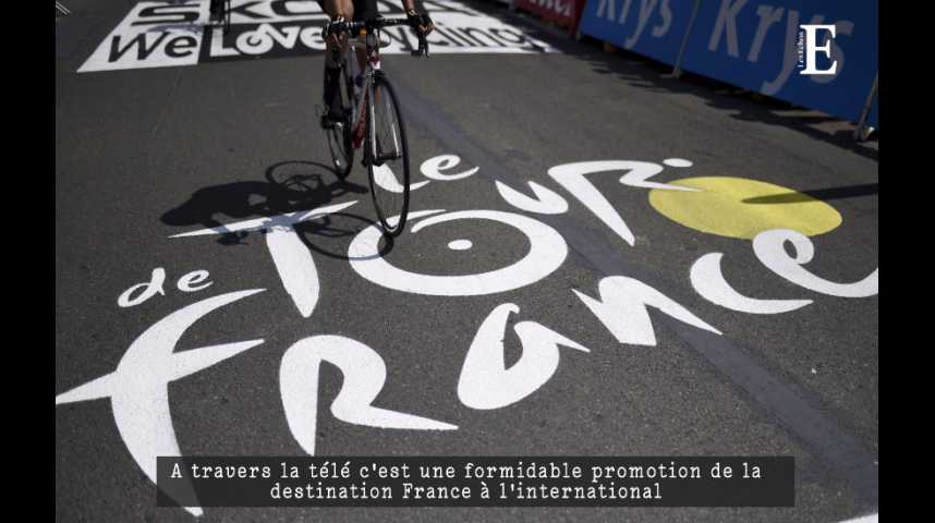 Illustration pour la vidéo Tour de France : les gros chiffres de la petite reine