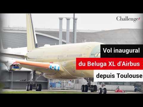 Premier vol pour le Beluga XL, l'avion-cargo d'Airbus