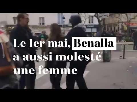 Le 1er-mai, Benalla a aussi molesté une femme