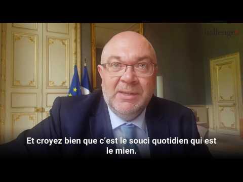 Stéphane Travert réagit au départ de Nicolas Hulot