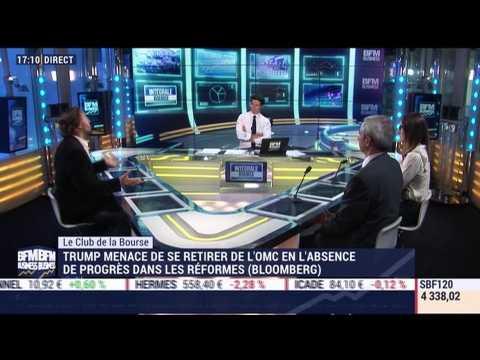 Le Club de la Bourse: Florence Barjou, Gilles Bazy-Sire et Stéphane Barbier de la Serre - 31/08