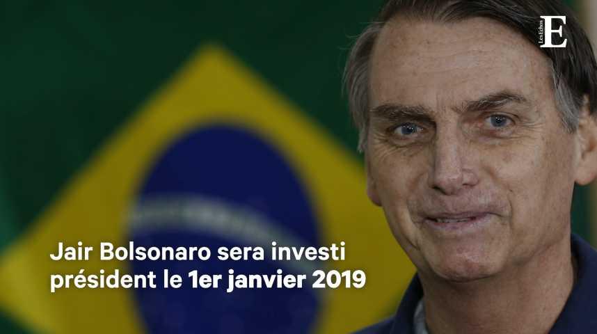 Illustration pour la vidéo Avec Jair Bolsonaro, le Brésil bascule à l'extrême droite