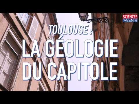 Toulouse : la géologie du Capitole au détail
