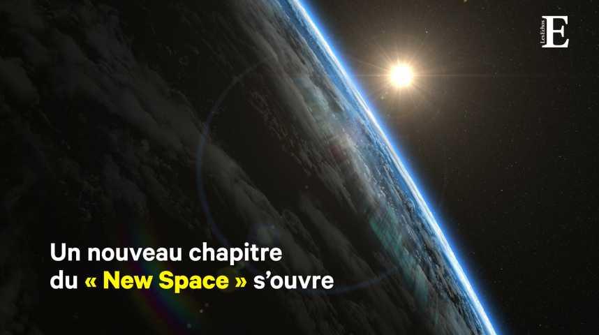 Illustration pour la vidéo Espace : Rocket Lab lance le marché des mini-fusées