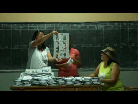 Vote counting begins in Madagacar's presidential election