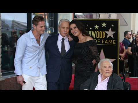 Michael Douglas' Receives Hollywood Walk Of Fame Star