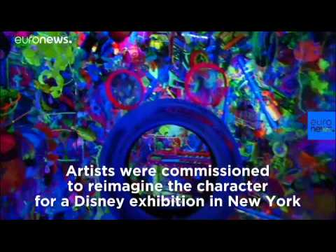 Watch: New York exhibition celebrates Mickey Mouse turning 90