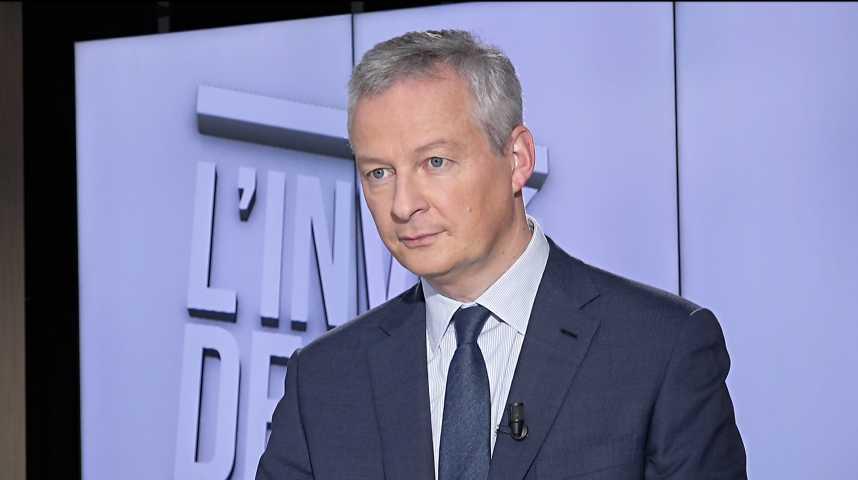 Illustration pour la vidéo « Il est temps que l'Allemagne se décide » sur l'avenir de l'Europe, déclare Bruno Le Maire