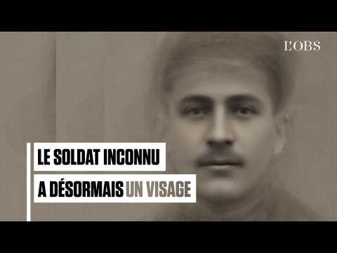 Découvrez le visage du Soldat inconnu, mort durant la Première guerre mondiale