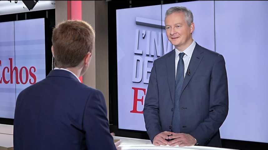 Illustration pour la vidéo Taxe GAFA : « 23 pays européens la défendent, il reste 3 Etats hostiles, et l'Allemagne hésite », déclare Bruno Le Maire