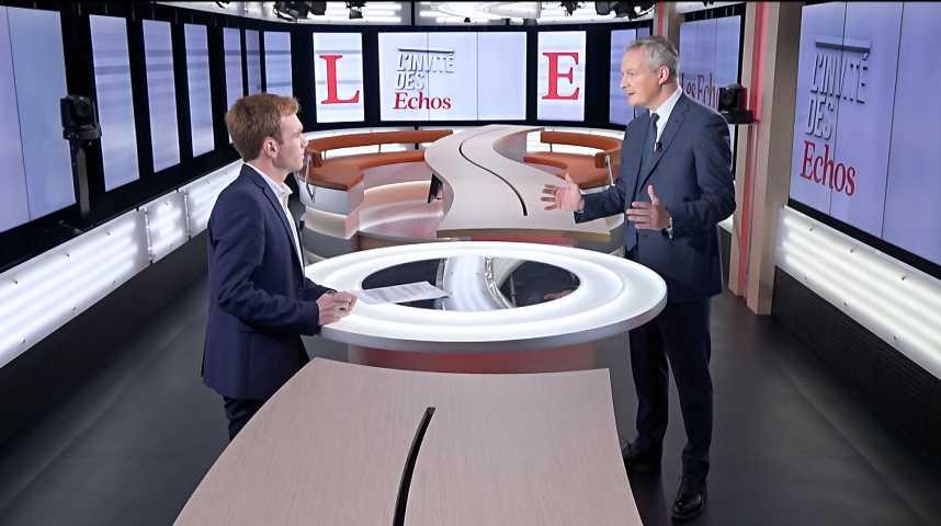 Illustration pour la vidéo « La zone euro, aujourd'hui, ne serait pas en mesure de résister à une nouvelle crise financière et économique », déclare Bruno Le Maire