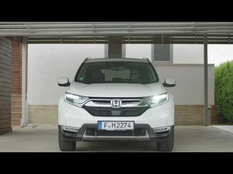 2019 Honda CR-V Hybrid Driving Video