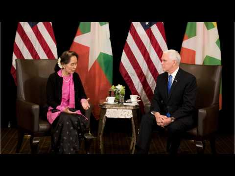 Pence Issues Sharp Rebuke to Myanmar's Suu Kyi Over 'Persecution' of Rohingya