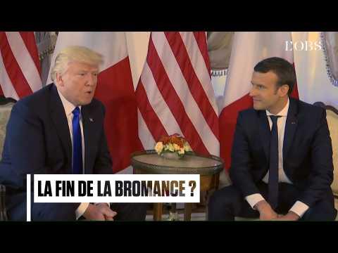 Trump et Macron : comment sont-ils passés des mots doux aux tweets assassins
