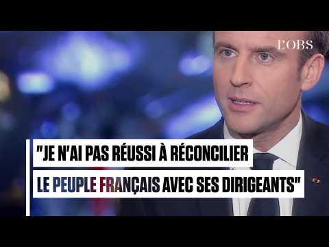 Gilets jaunes : Macron reconnaît son échec dans la réconciliation du peuple avec ses dirigeants