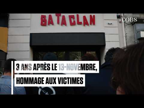 Du Stade de France au Bataclan, hommage aux victimes trois ans après les attentats du 13-Novembre