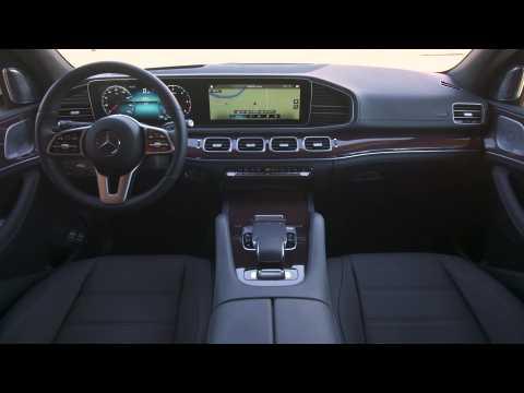 Mercedes-Benz GLE 400 d 4MATIC Interior Design in Diamond White