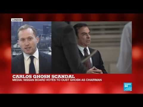 Carlos Ghosn ousted by Nissan Board - Henley Business School's Benjamin Laker explains